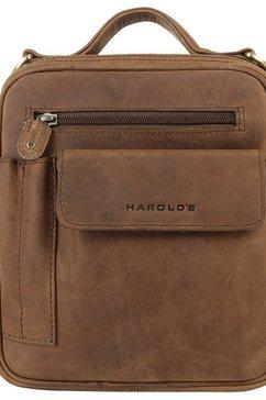harold's schoudertas »antic« bruin