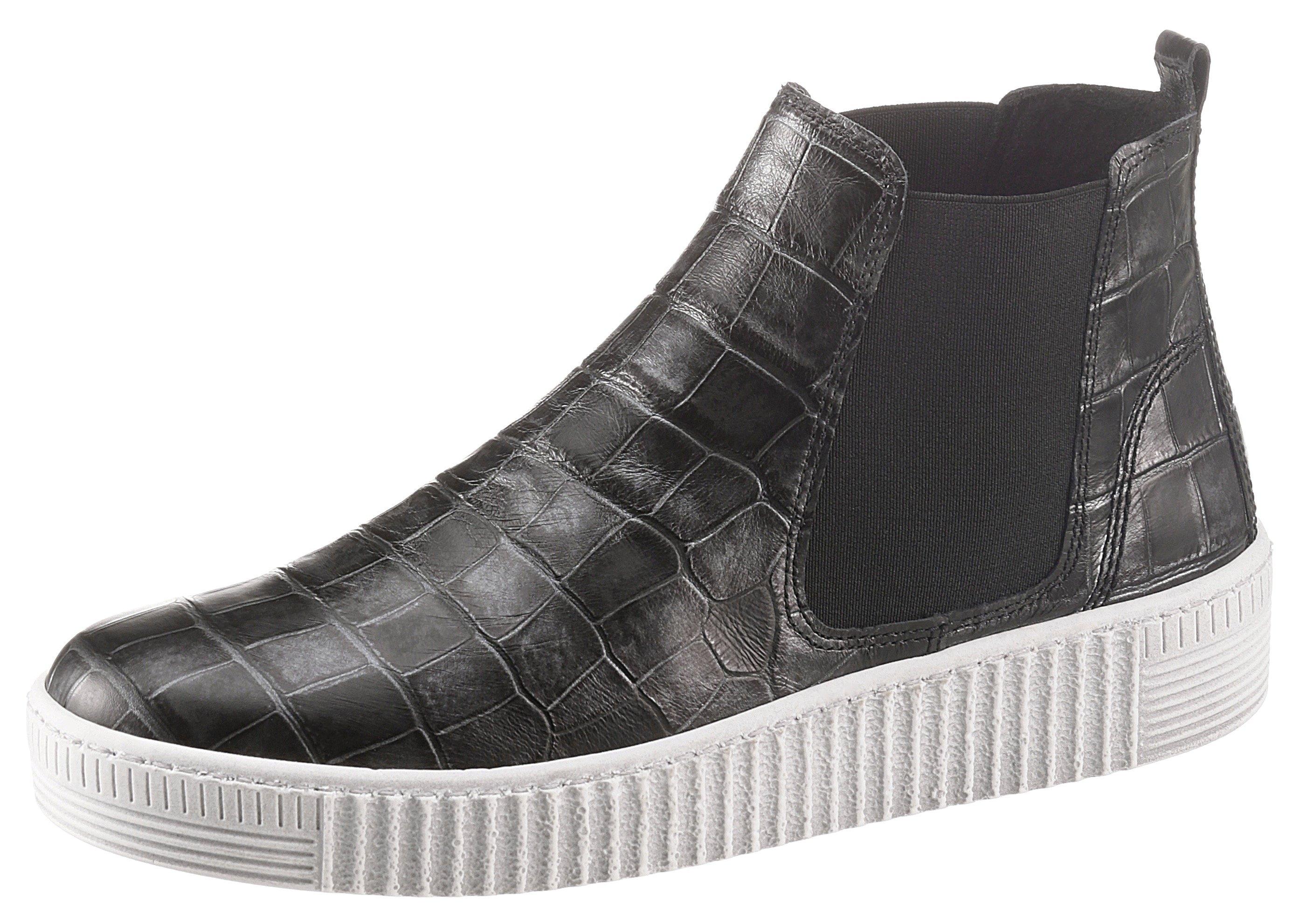 Gabor Chelsea-boots met trendy reptielprint veilig op otto.nl kopen