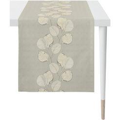 apelt tafelloper 2717 loft style, jacquard (1 stuk) beige