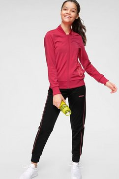 adidas performance trainingspak »youth girl tracksuit« zwart