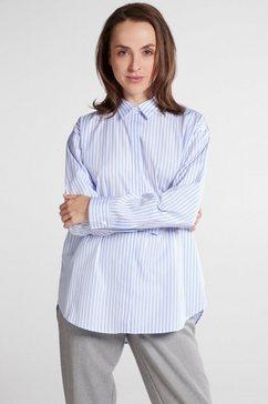 eterna blouse met lange mouwen »1863 by eterna - premium« blauw