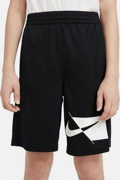nike sweatshort »nike dri-fit big kids' (boys') training shorts« zwart