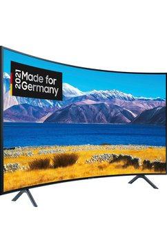 samsung ue55tu8379 curved-led-tv (138 cm - (55 inch), 4k ultra hd, smart-tv zwart