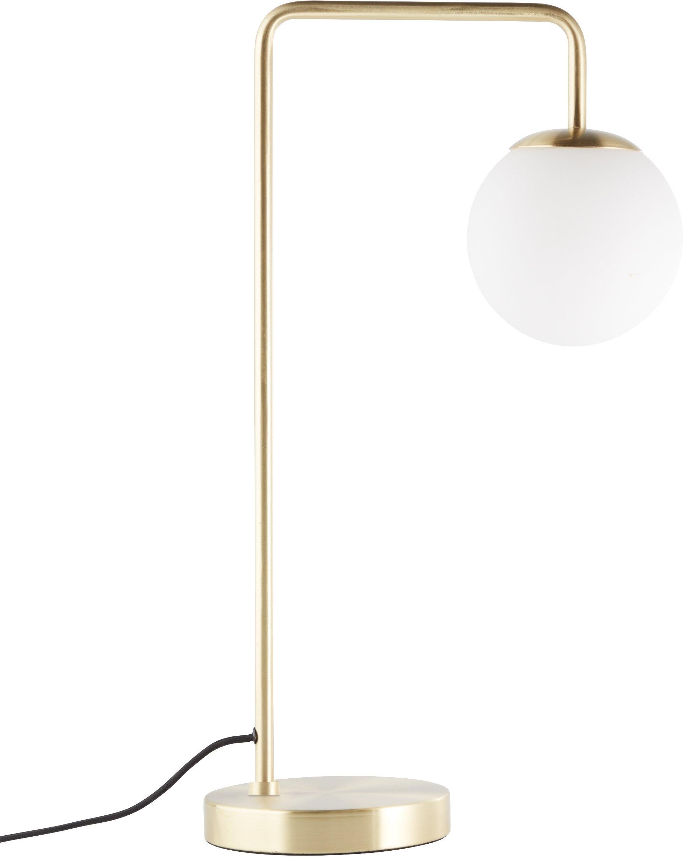 LeGer Home by Lena Gercke tafellamp Joleen messingkleurige tafellamp met bollen van opaalglas online kopen op otto.nl