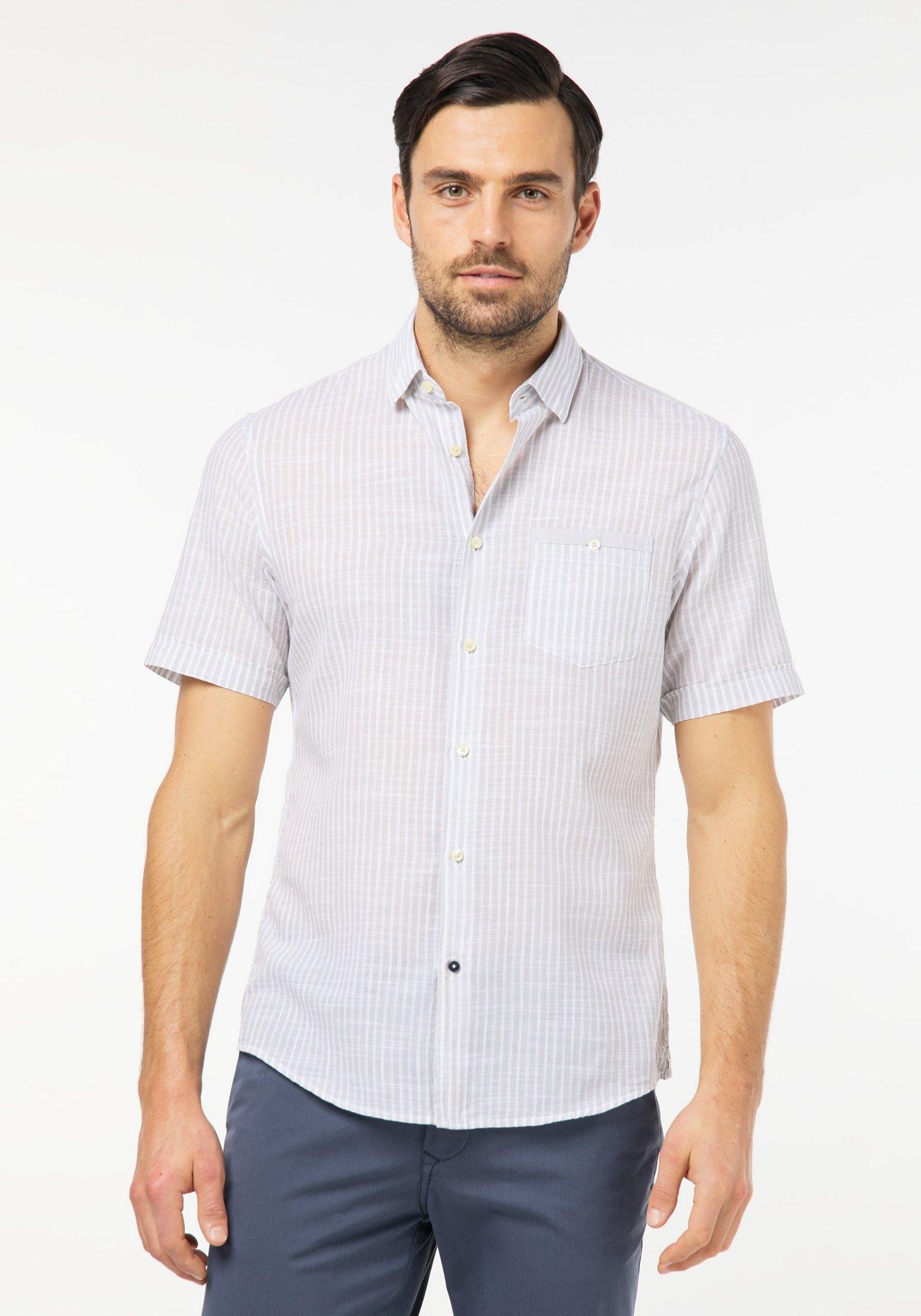 Pierre Cardin overhemd met korte mouwen nu online bestellen