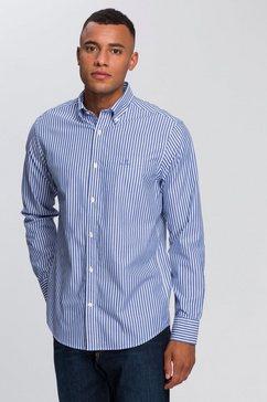 gant overhemd met lange mouwen blauw