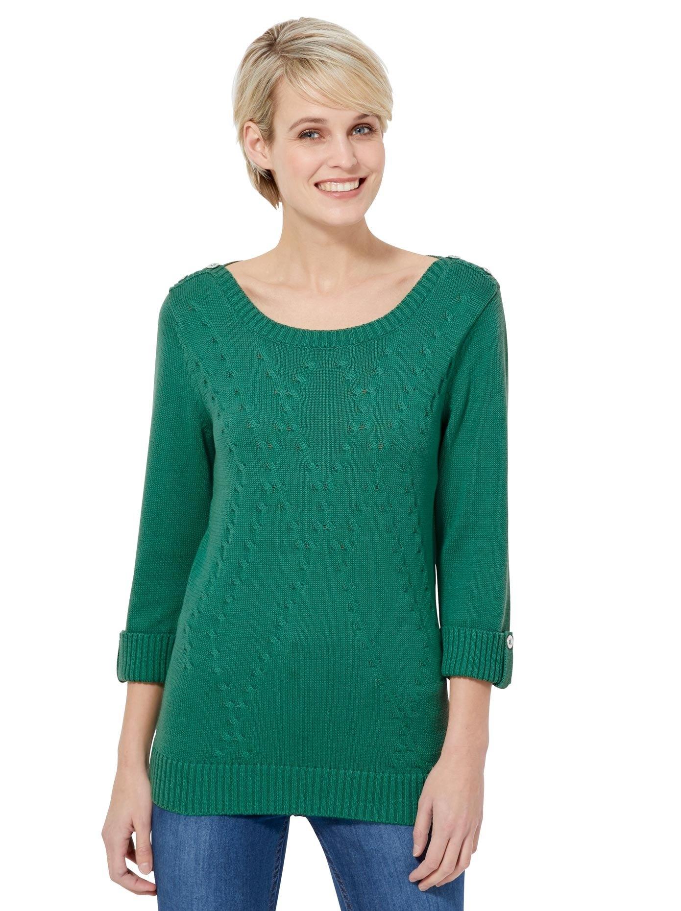 Casual Looks trui met 3/4-mouwen bij OTTO online kopen