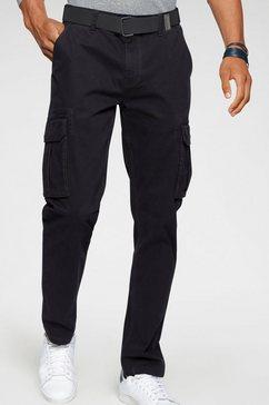 h.i.s cargobroek (met een afneembare riem) zwart