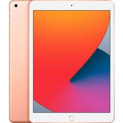 "apple tablet ipad wifi 128gb, 10,2 "", ipados, inclusief oplader goud"