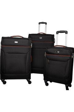 travel pal trolleyset toronto (3-delig) zwart