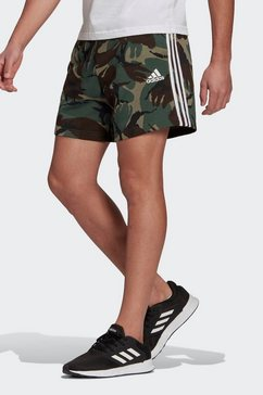 adidas performance trainingsshort essentials french terry camouflage groen