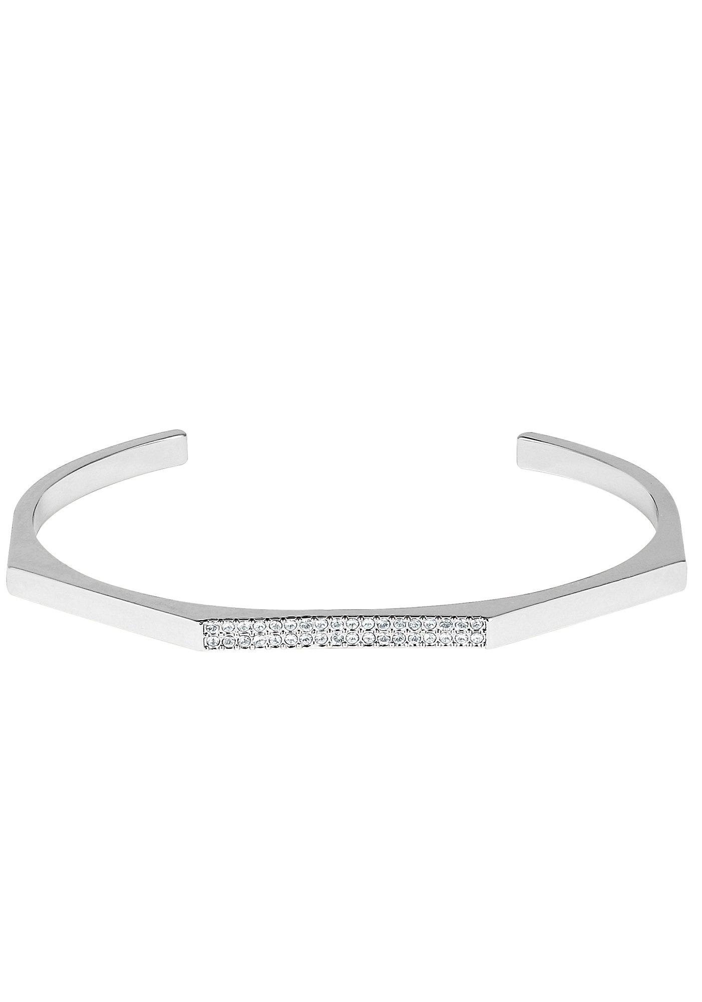 DKNY klemarmband New York Geometric Skinny Pave Cuff (RH), 5548738 met swarovski®-kristallen - verschillende betaalmethodes