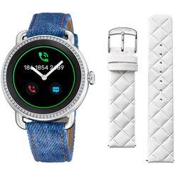 festina smartwatch »smartime, f50000-1« (null) blauw