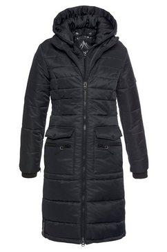 alpenblitz winterjack »jakarta long« zwart