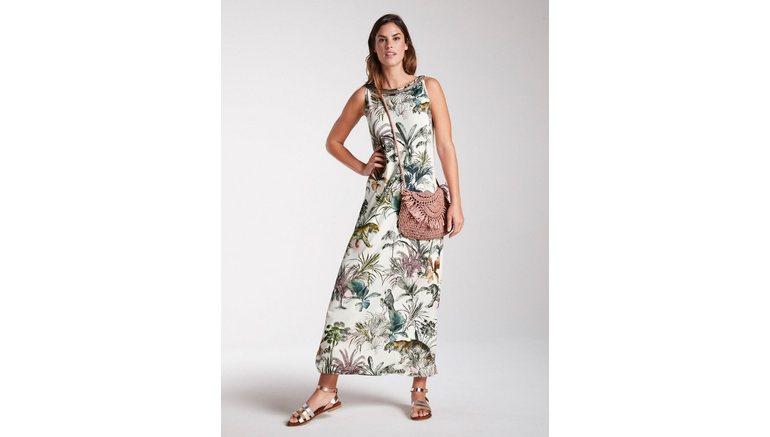 LINEA TESINI by Heine gedessineerde jurk