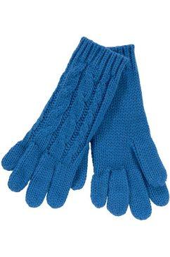 j jayz gebreide handschoenen blauw