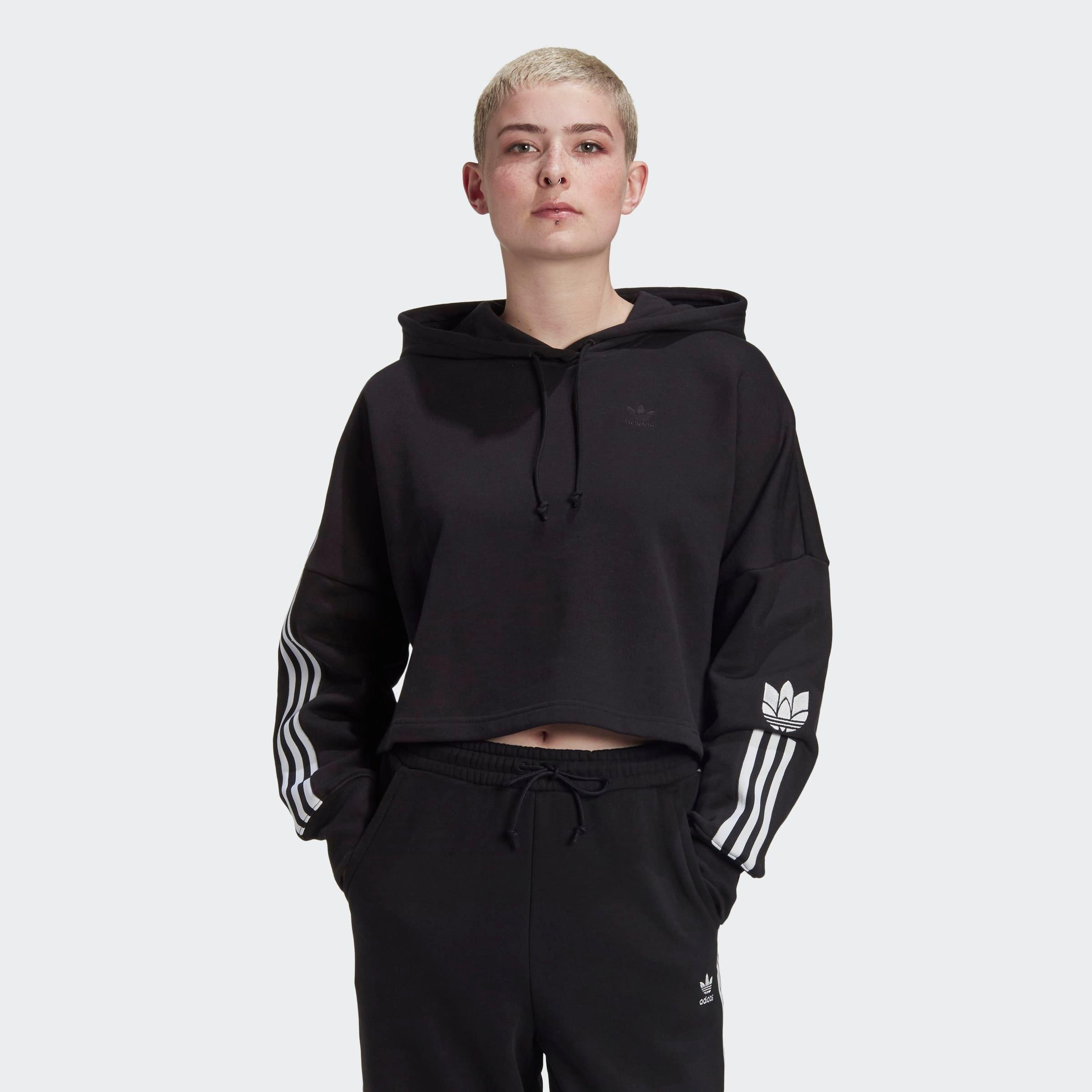 adidas Originals hoodie »ADICOLOR 3D TREFOIL CROPPED« veilig op otto.nl kopen