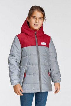 scout gewatteerde jas shiny rood