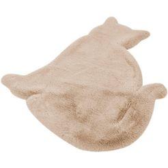 luettenhuett vloerkleed voor de kinderkamer »katze« beige