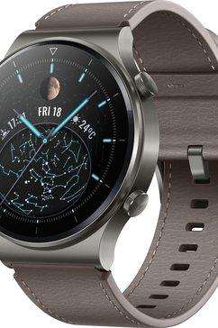 huawei smartwatch watch gt 2 pro classic 24 maanden fabrieksgarantie zilver