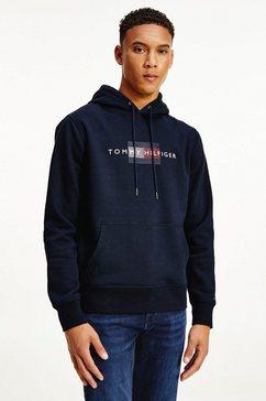 tommy hilfiger hoodie lines hilfiger hoody blauw