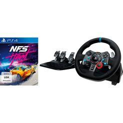 logitech games »g29 driving force + ps4 nfs heat« stuur