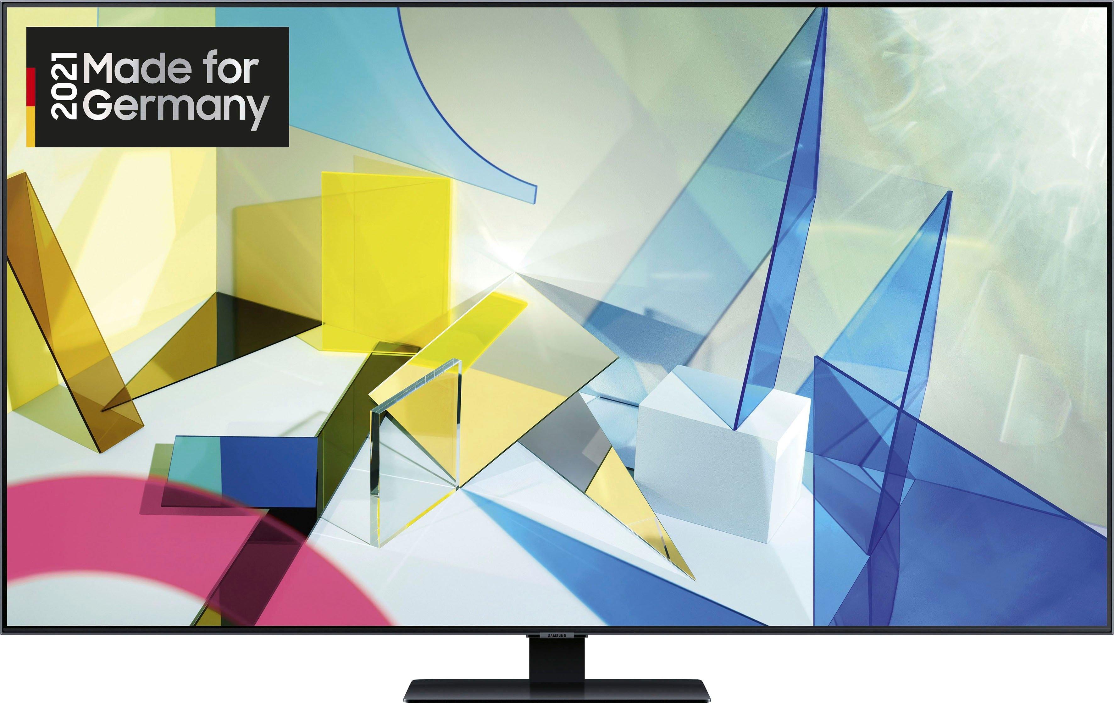SAMSUNG GQ85Q80T QLED-televisie (214 cm / (85 Inch), 4K Ultra HD, Smart-TV voordelig en veilig online kopen