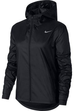 nike runningjack »womens essentials jacket plus size« zwart