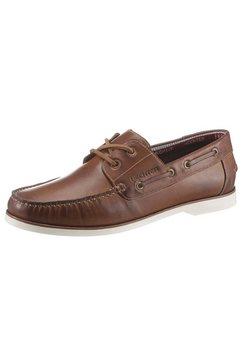 daniel hechter bootschoenen in mocassin-look bruin