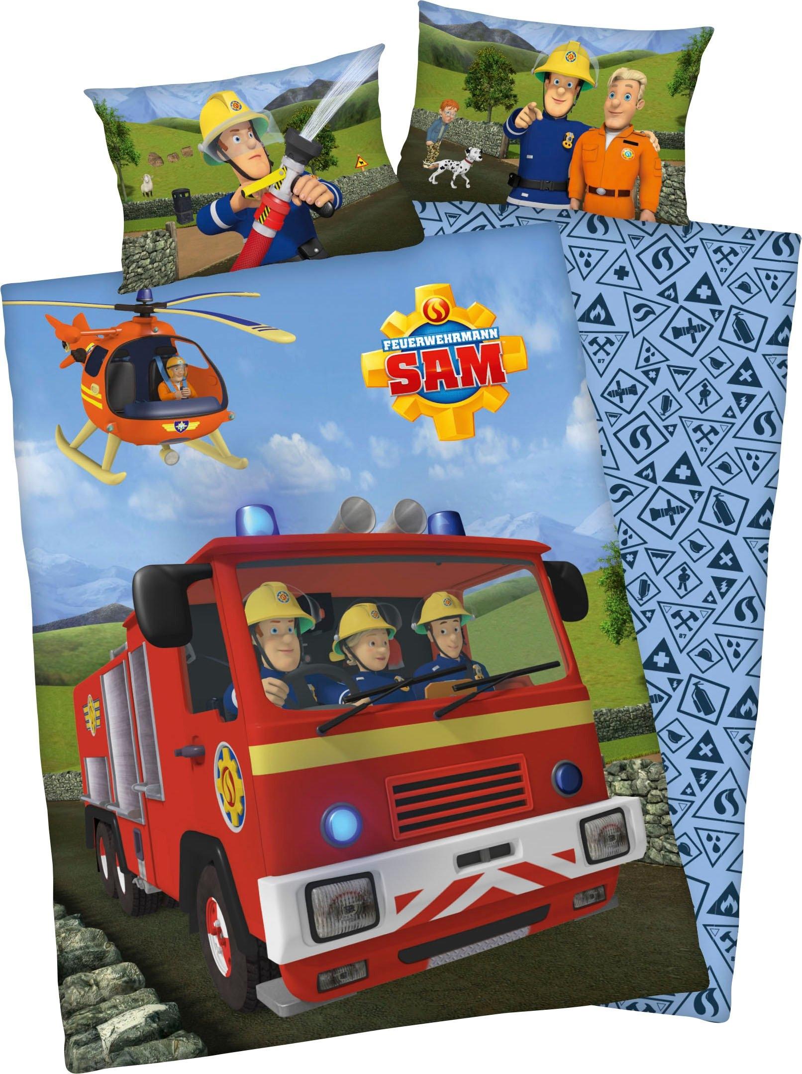 Op zoek naar een Feuerwehrmann Sam baby-overtrekset »Feuerwehrmann Sam«? Koop online bij OTTO