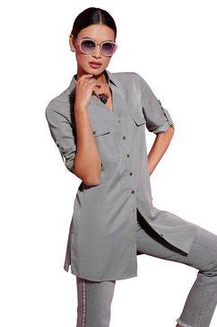 creation l lange blouse grijs