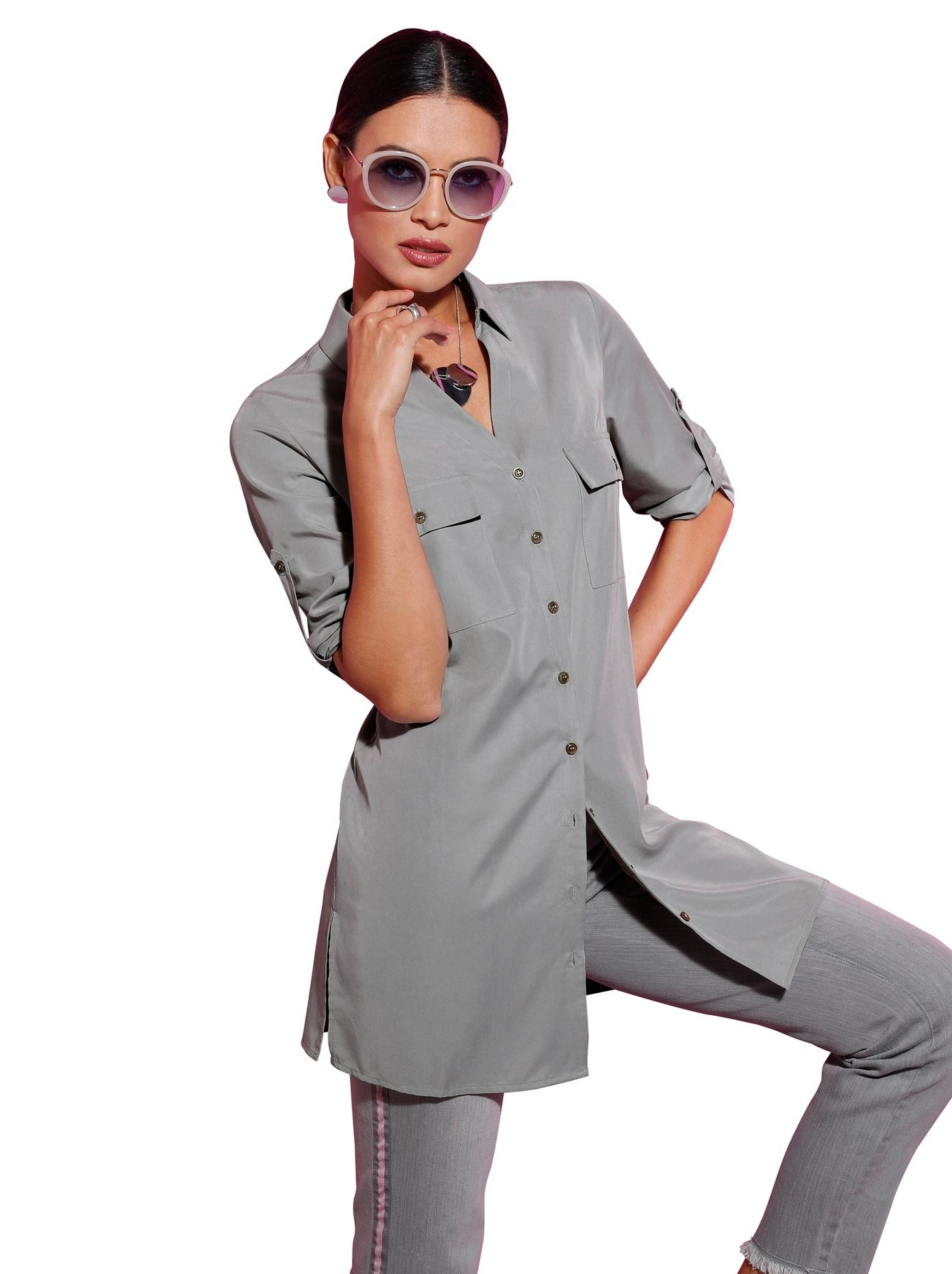 Op zoek naar een Creation L lange blouse? Koop online bij OTTO