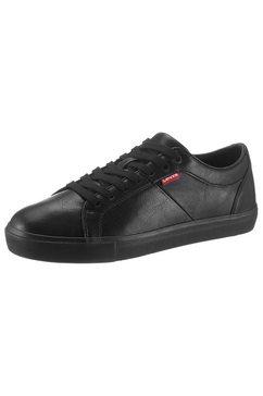 levi's sneakers »woodward« zwart