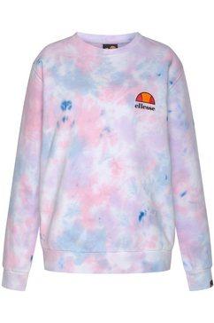 ellesse sweatshirt haverford tie dye sweatshirt roze