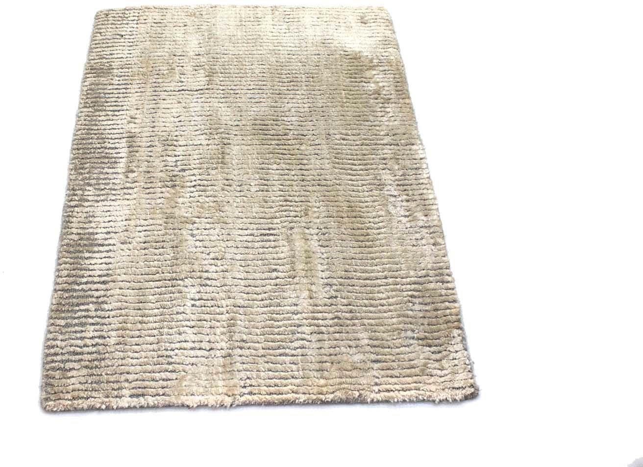 morgenland vloerkleed Loribaft Teppich handgewebt beige Viskose - verschillende betaalmethodes