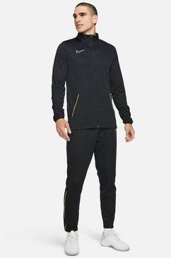 nike trainingspak m nk dry acd21 trk suit k (3) (set, 2-delig) zwart
