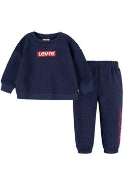 levi's kidswear shirt  broek (set) blauw
