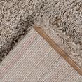 my home hoogpolig vloerkleed tripova uni shaggy, zachte pool, woonkamer beige