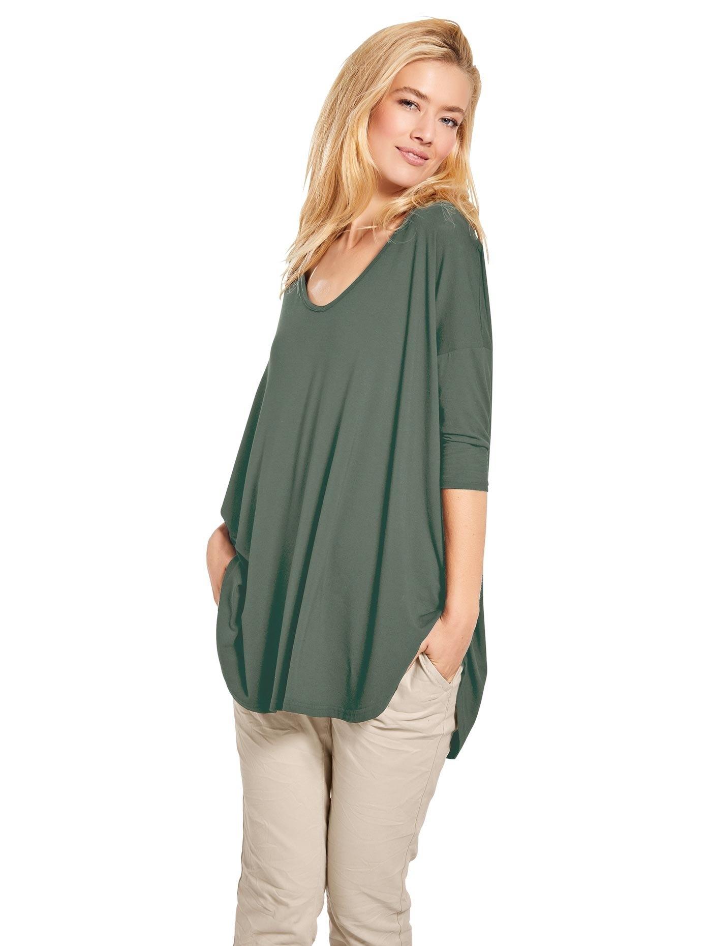 LINEA TESINI by Heine oversized shirt - gratis ruilen op otto.nl