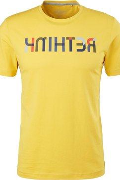 s.oliver t-shirt geel