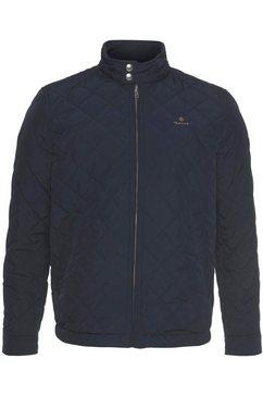 gant gewatteerde jas quilted windcheater blauw