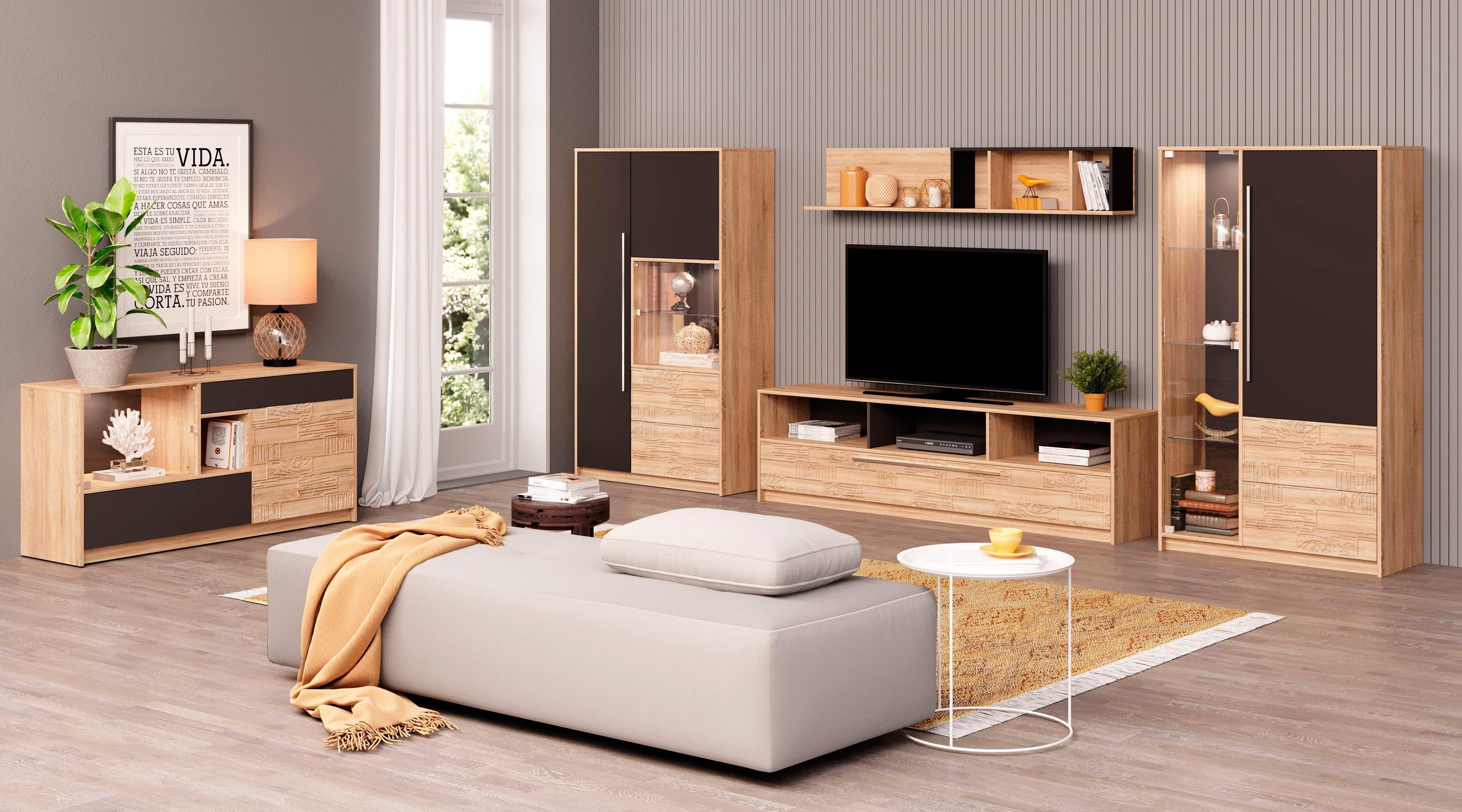 INOSIGN tv-meubel Brick Breedte 195 cm online kopen op otto.nl