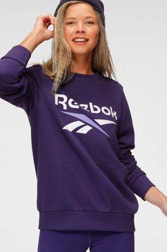 reebok sweatshirt »ri bl french terry crew« paars
