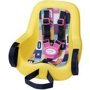 baby born poppen fietsstoeltje ter bevestiging aan het kinderzitje geel