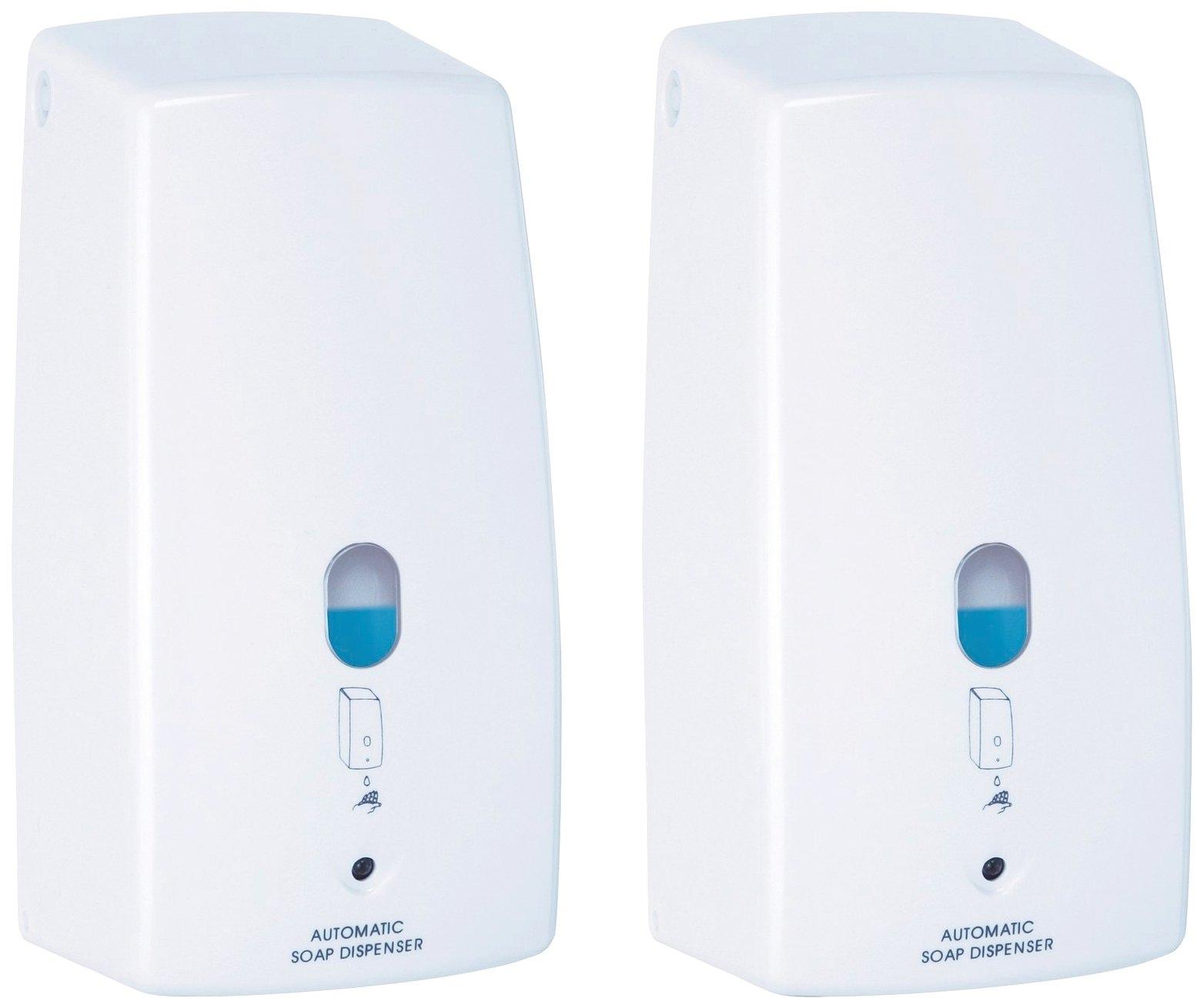 WENKO zeepdispenser Treviso wit, infrarood (set, 2-delig) bestellen: 30 dagen bedenktijd
