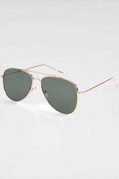 primetta eyewear pilotenbril goud