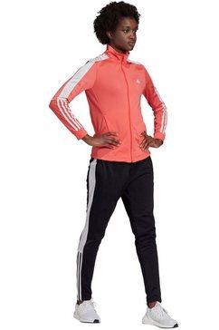 adidas performance trainingspak »osr w pes 3 stripes tracksuit« roze