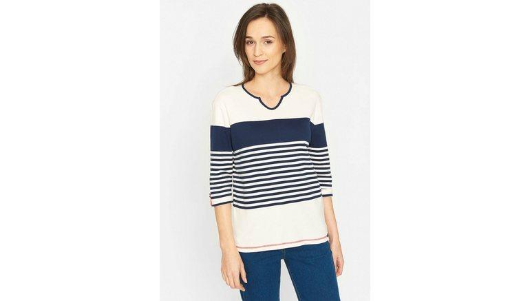 Sea Ranch shirt met 3/4-mouwen »Candie«
