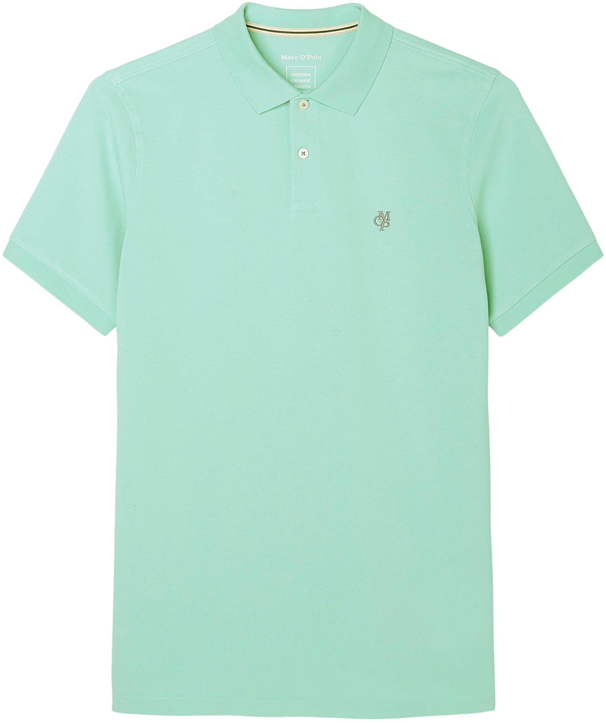 Marc O'Polo Poloshirt met elastische mouwboorden bestellen: 30 dagen bedenktijd