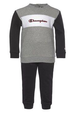 champion joggingpak crewneck suit zwart